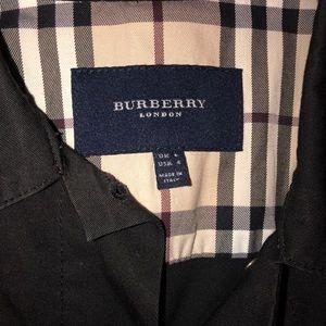Burberry Jackets & Coats - Burberry Black Denim Jacket
